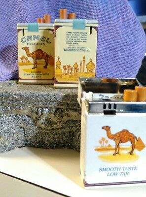 Rare collector camel lighters  limited edition retired