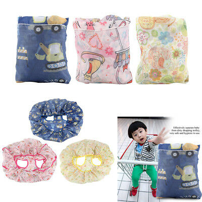 Protable Baby Kids Child Shopping Trolley Cart Seat Pad High Chair Mat Cover