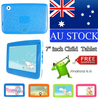 NEW 7'' inch Android 4.4 WiFi Tablet PC Quad Core Camera Children Gift AU STOCK