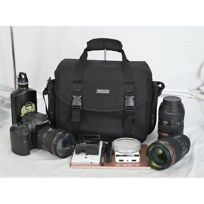 CADEN D13 Large Camera Bag Case Photo For Nikon Canon Sony DSLR Cameras Lenses