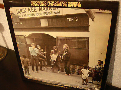 CREEDENCE CLEARWATER REVIVAL  WILLY AND THE POOR BOYS  Uk 1st.Press.