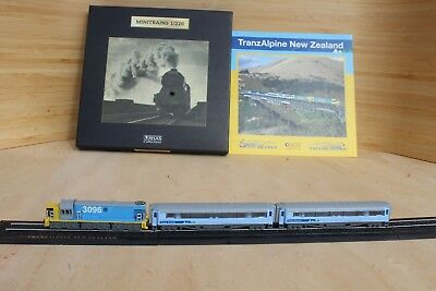 Atlas Minitrains 1:220 TranzAlpine New Zealand Modelleisenbahn Eisenbahn Train Z