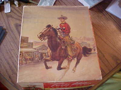 Vintage Tom Mix Boots Box (Only) Great Graphics See ALL pictures