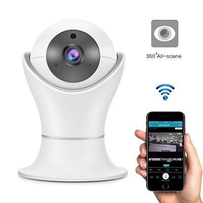 Rotated 1080P Home Security HD IP Wireless Smart WiFi AV CCTV Camera Home Cam