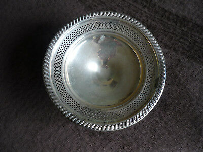Vintage Empire Weighted Sterling Candy Compote Dish