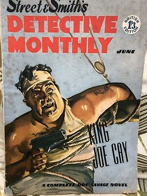 Detective Monthly Pulp