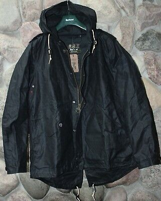 Barbour Jacket Coat Steve McQueen Shell Parka MWX1237NY51 Extra Large XL UK