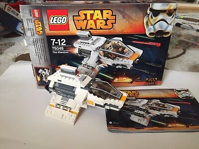 Lego Star Wars The Phantom Set 75048 All Parts Minifigs Instructions And Box