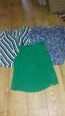 Ladies Tops Clothing Bundle Next Oasis George work occasion Size 12