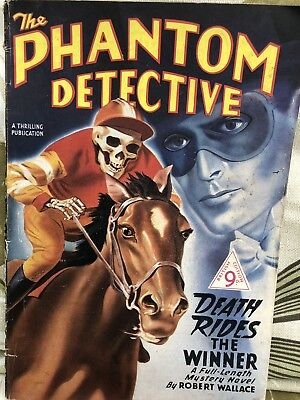 The Phantom Detective Magazine Pulp