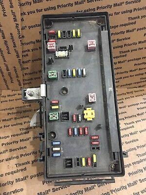 07 dodge ram 1500 2500 fuse box totally integrated power module tipm  04692117ai