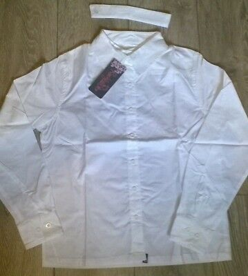 Ladies show shirt equestrian horse riding competition Jumping white by Rockfish