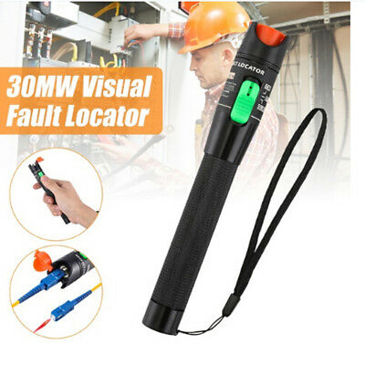 30km range laser 30mw visual fault locator fiber tester optic cable test pen HGU