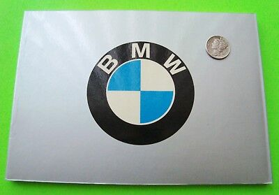 BMW POCKET HISTORY Alfieri AUTOMOBILIA 72-pgs LOADED w/ PHOTOS In English