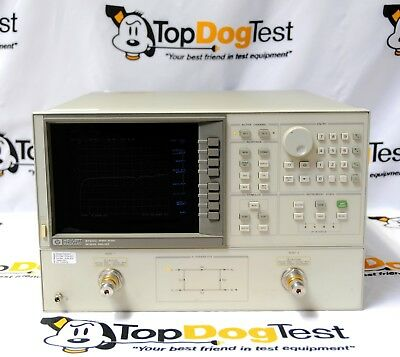 "Hp Agilent Keysight 8720C Network Analyzer 50MHz-20GHz opt 010  ""  CAL'D  """
