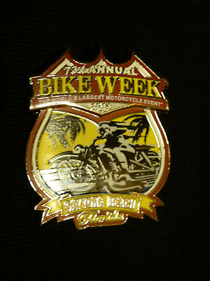 HD Harley Davidson 73rd Daytona Bike Week Florida Pin 2014 Pin neu