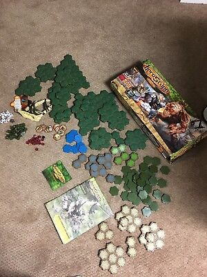 Heroscape Swarm Of The Marro Master Set 2 INCOMPLETE FOR PARTS