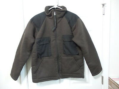 New Unicor Shirt Cold Weather Synthetic Fiber Pile Large Brown Bear Suit