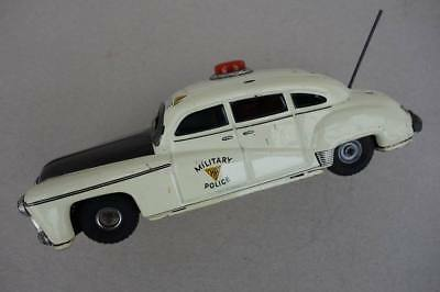 1950s TCO 1011 Blechauto HUDSON Limousine Military Police Tintoy Car Tipp co