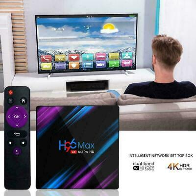 Smart TV Box Android 9.0 4GB 32GB WiFi Bluetooth Media Player 4K Netflix Youtube