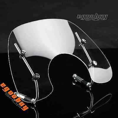 Scooter Clear Windshield Deflector With Mounting Bracket For Vespa Primavera 150
