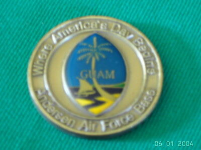 Us Army Coin Münze  Andersen Air Force Base  Guam