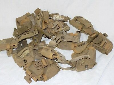 QTY 15 US Military Army Marines MOLLE II FSBE Hand Compass Pouch Coyote Tan