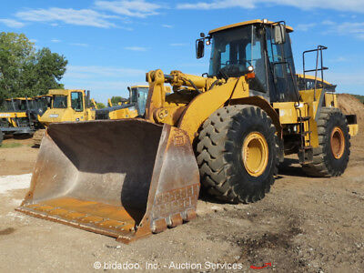 "2005 Caterpillar 966G Series II Wheel Loader Ride Control Tractor 125"" GP Bucket"