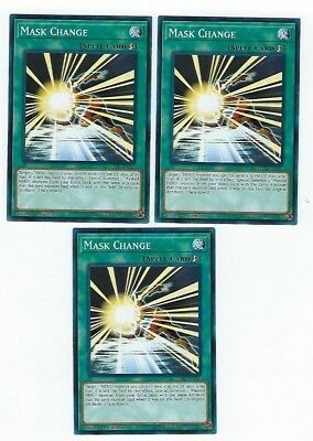 X3 Yugioh Mask Change Lehd-Ena21 Common 1St In Hand