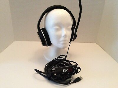 TURTLE BEACH Ear Force PX21 Gaming Headset  Xbox PS3 PS4 PC Mac & Ear Force DSS