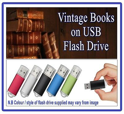 Antique Horology Books on USB -WatchMaking Clock Watch Repair Pocket History 284