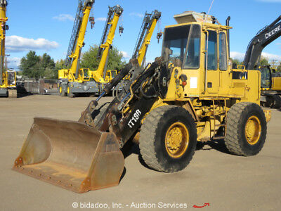 "Caterpillar IT18B 4X4 Wheel Loader AC Cab Aux Hyd 93"" Bucket Diesel bidadoo"