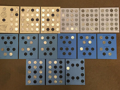 (111) - STATE QUARTERS DATED 1999 thru 2008 in 5 DIFFERENT ALBUMS + BONUS