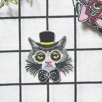 Patches For Clothing Bird Owl Applique Badge Clothes Shirt Iron on Patch D