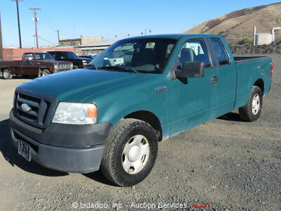 """2008 Ford F-150 4-Door Extended Cab Pickup Truck 5.4L Triton V8 A/C 6' 4"""" Bed"""