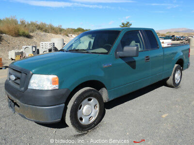 """2006 Ford F-150 4-Door Extended Cab Pickup Truck Triton 4.6L V8 A/C 6' 4"""" Bed"""