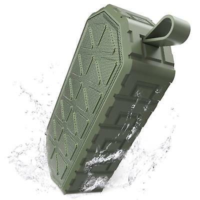 Bluetooth Speakers, Wireless Portable Speaker with Enhanced Bass IPX6 Waterproof