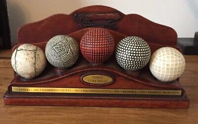 Early Golf Ball Letter Rack.by History Craft.