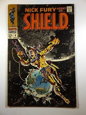 """Nick Fury, Agent of Shield #6 """"Doom Must Fall!"""" Solid VG Condition!!"""