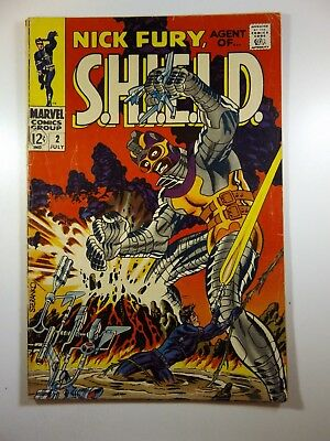 Nick Fury, Agent of Shield #2 Awesome Read!! VG- Condition!!