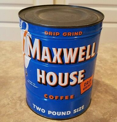Maxwell House 2lb Coffee Can Vintage - Unopened