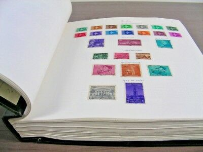MIDDLE EAST(PERS-), AFRICA, EGYPT, Excellent Stamp Collection hinged/mounted in