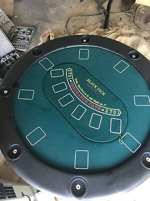 Poker Blackjack Roulette Table Folding