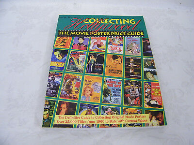 Vintage Jon R. Warren's Collecting Hollywood The Movie Poster Price Guide
