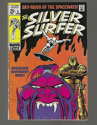 Silver Surfer #6 Worlds Without End