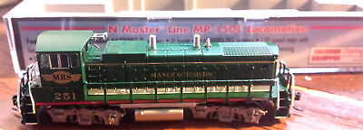 MP-15DC Manufacturers Railway Deisel Loco-DCC Equipped Road#251 Atlas N #52538