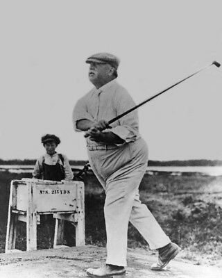 U.S. President WILLIAM HOWARD TAFT Glossy 8x10 Photo Golf Course Poster Print