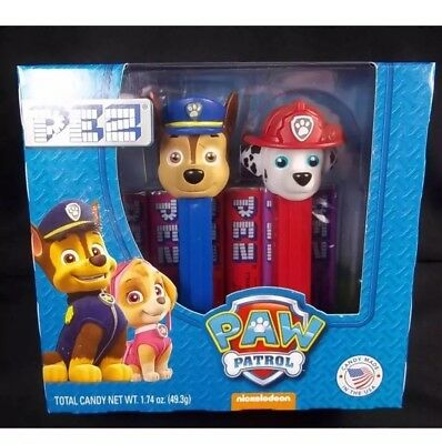 Paw Patrol Pez 2 pack dispenser MARSHALL CHASE New