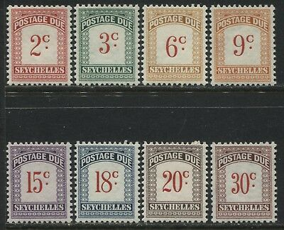 Seychelles 1951 Postage Due set mint o.g.