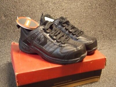 ddb40dfe4a7 CONVERSE BLACK STEEL Toe Slip-Resistant Shoes 4.5   6.5 C1850 ...